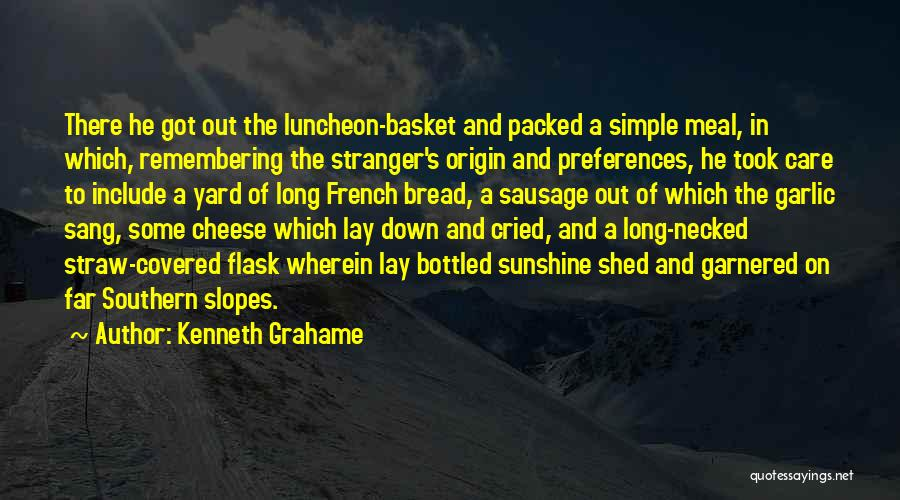 Food And Meals Quotes By Kenneth Grahame