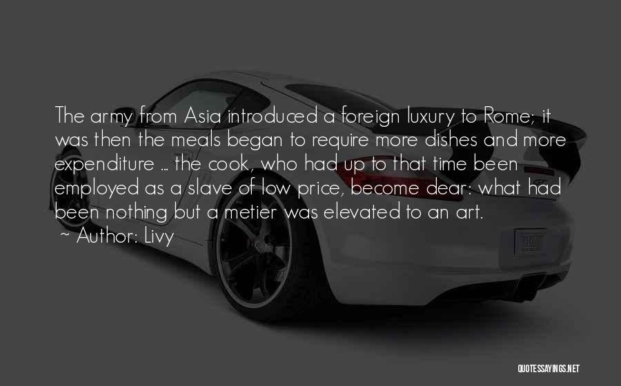 Food And Meals Quotes By Livy