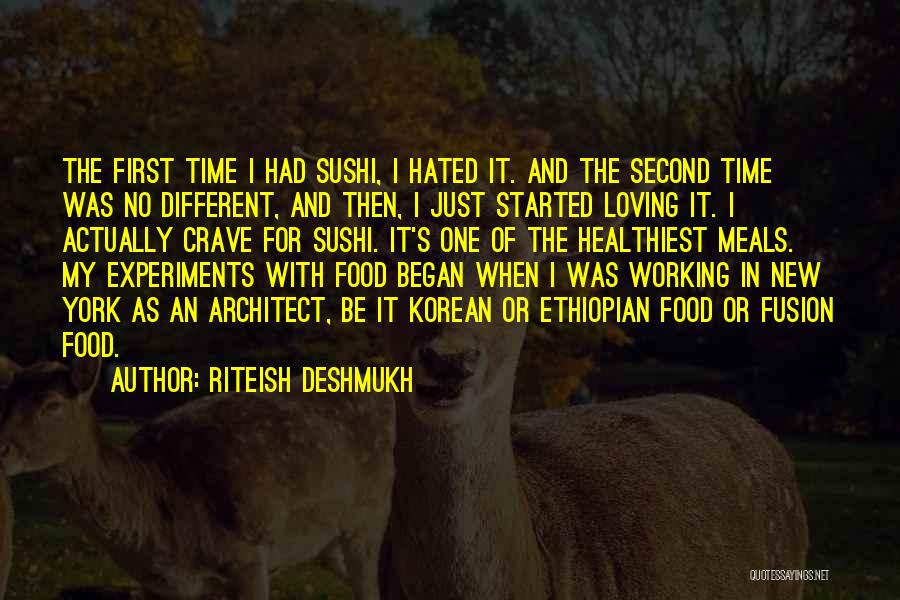 Food And Meals Quotes By Riteish Deshmukh
