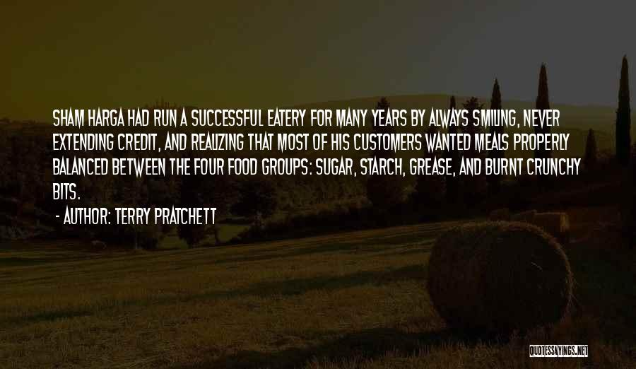 Food And Meals Quotes By Terry Pratchett
