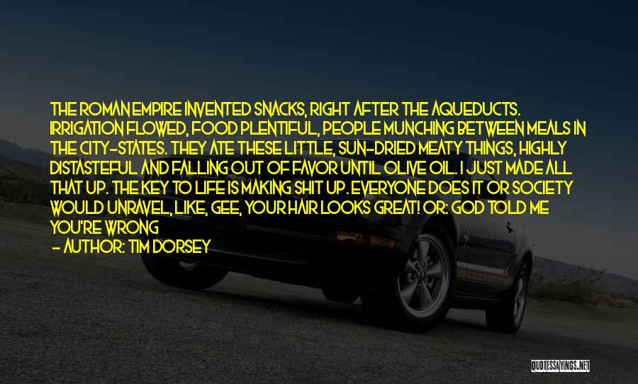 Food And Meals Quotes By Tim Dorsey
