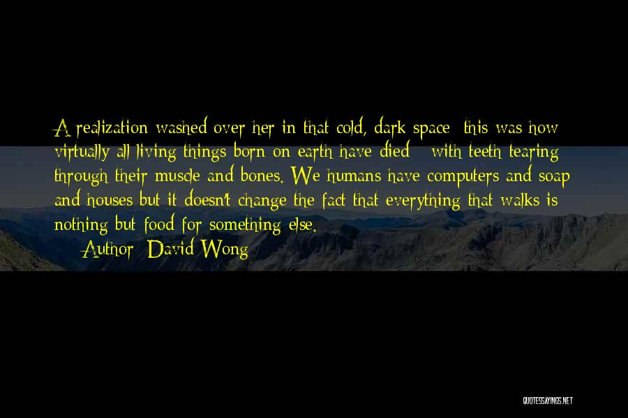 Food Is Everything Quotes By David Wong