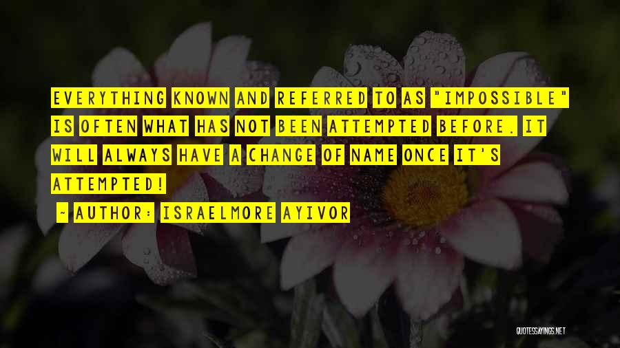 Food Is Everything Quotes By Israelmore Ayivor