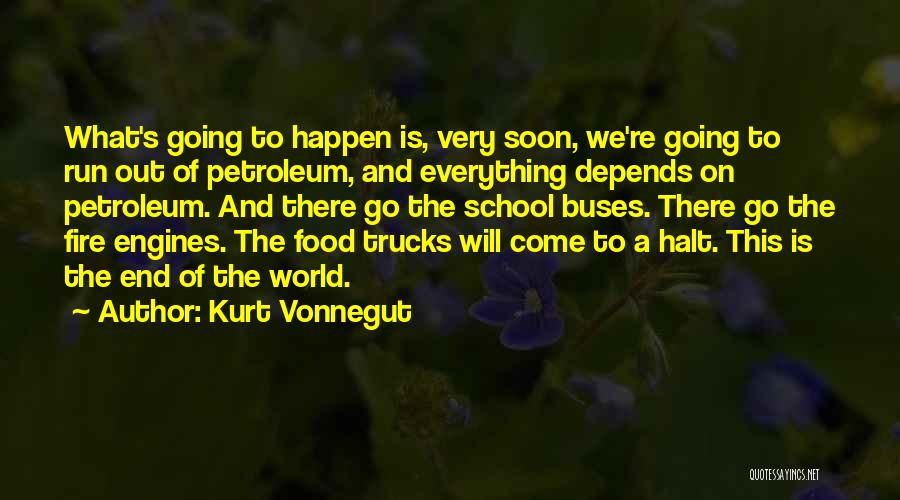 Food Is Everything Quotes By Kurt Vonnegut