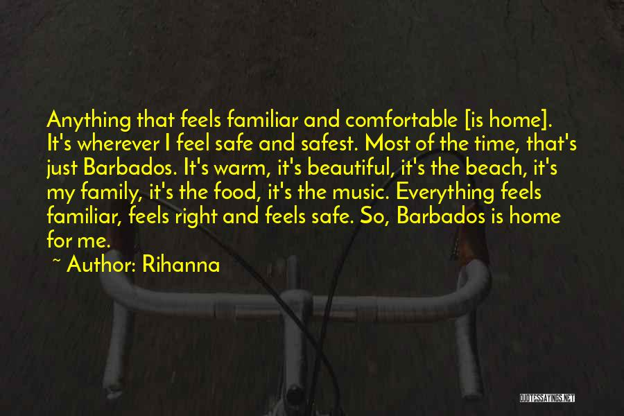 Food Is Everything Quotes By Rihanna
