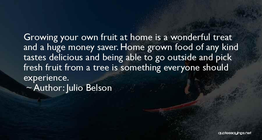 Food Treat Quotes By Julio Belson
