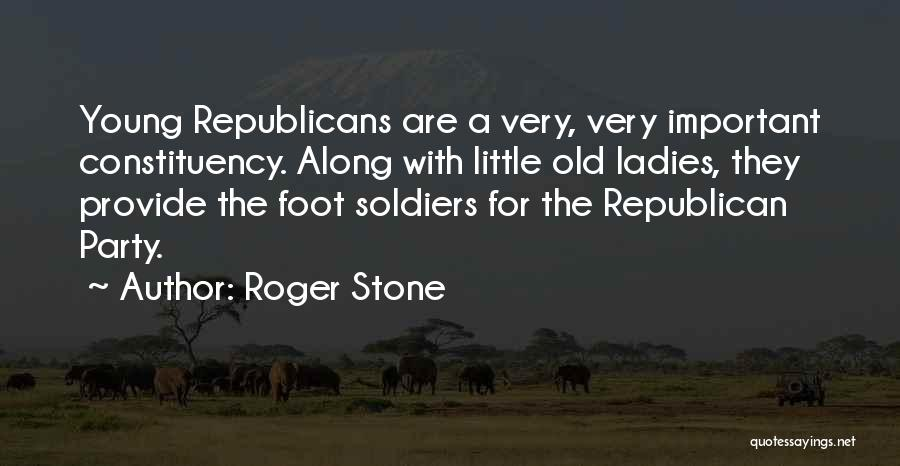 Foot Stone Quotes By Roger Stone