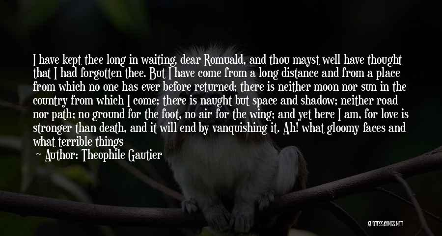 Foot Stone Quotes By Theophile Gautier