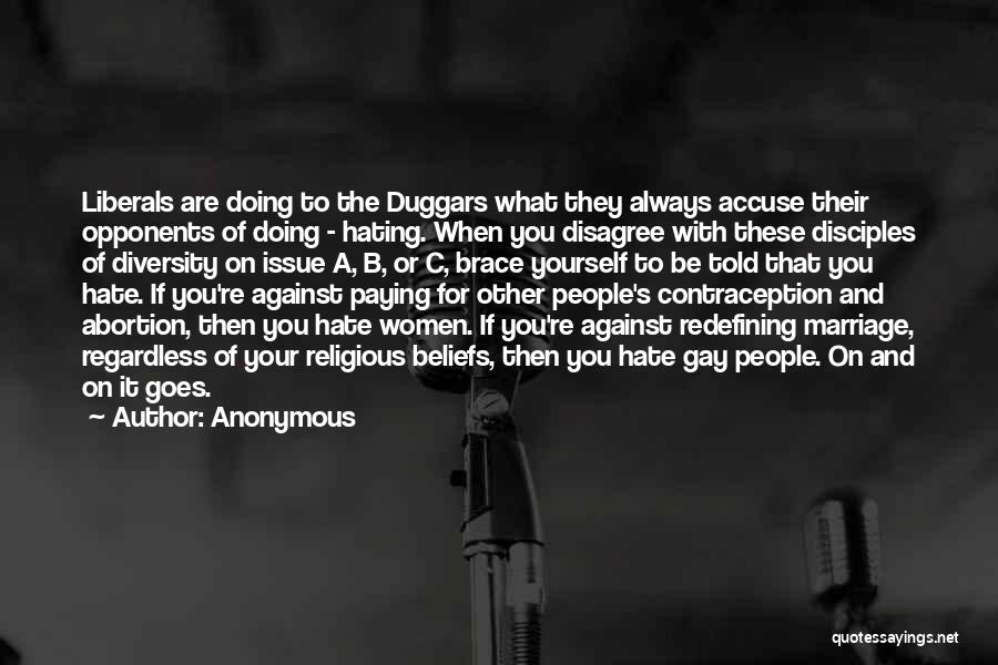 For Gay Marriage Quotes By Anonymous