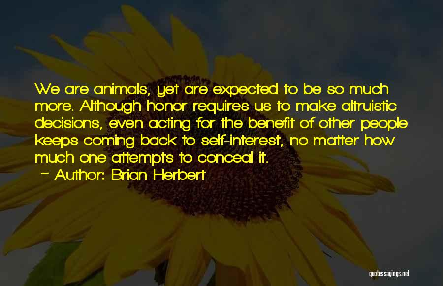 For Keeps Quotes By Brian Herbert