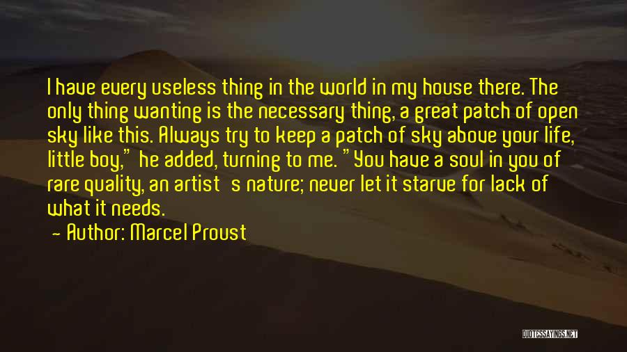 For Me There's Only You Quotes By Marcel Proust