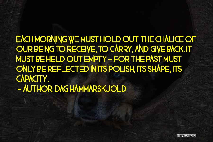 For Morning Quotes By Dag Hammarskjold