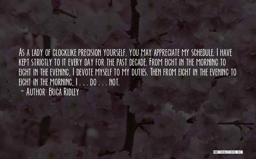 For Morning Quotes By Erica Ridley
