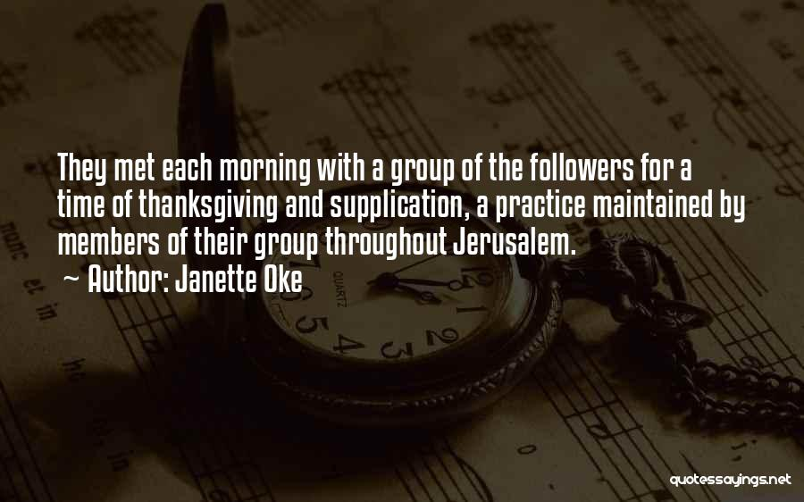 For Morning Quotes By Janette Oke