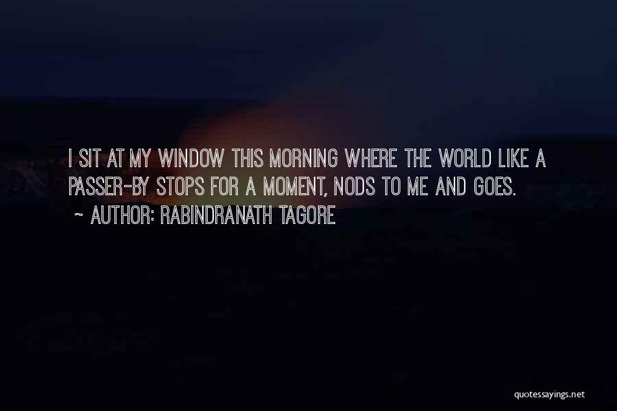 For Morning Quotes By Rabindranath Tagore