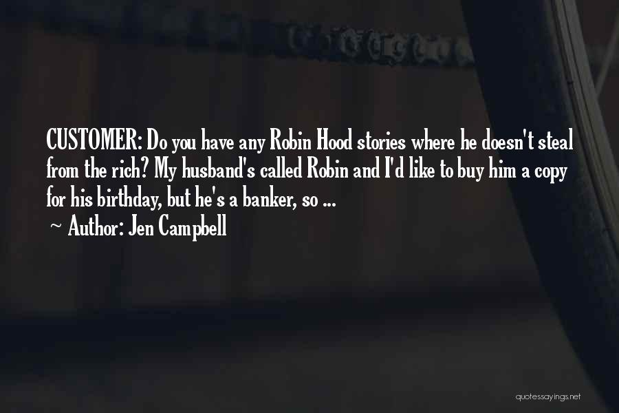 For My Birthday Quotes By Jen Campbell