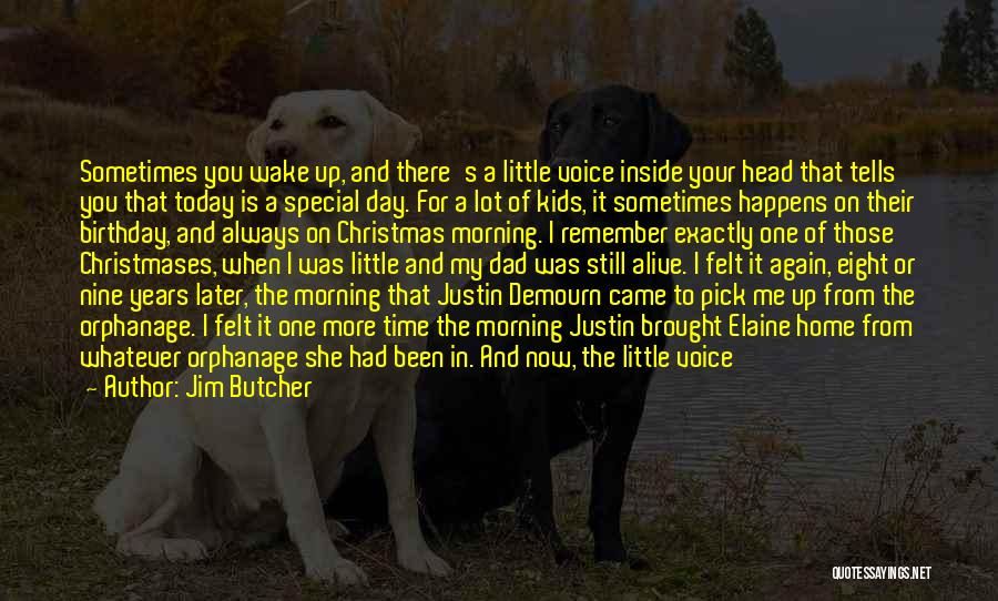 For My Birthday Quotes By Jim Butcher