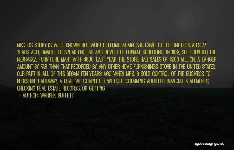 For My Birthday Quotes By Warren Buffett