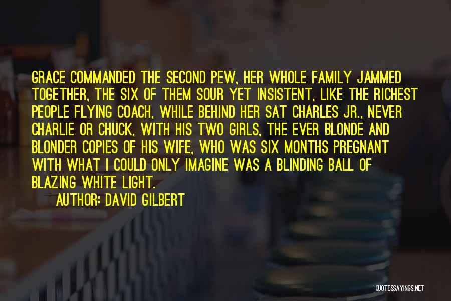 For My Pregnant Wife Quotes By David Gilbert