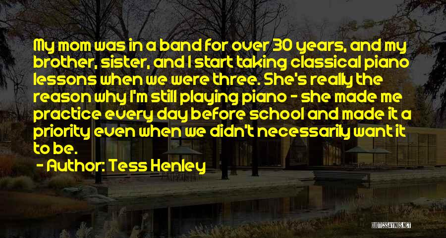 For My Sister Quotes By Tess Henley