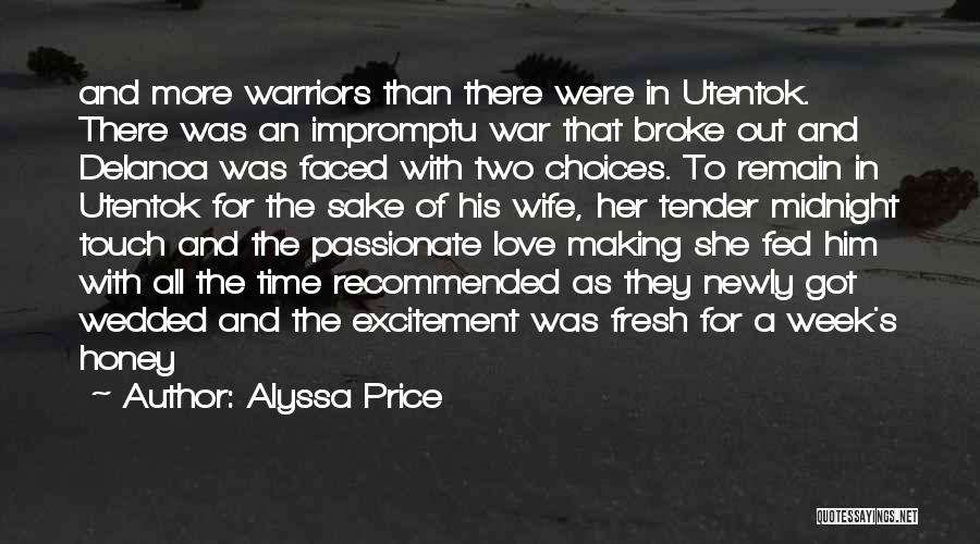 For Wife Love Quotes By Alyssa Price