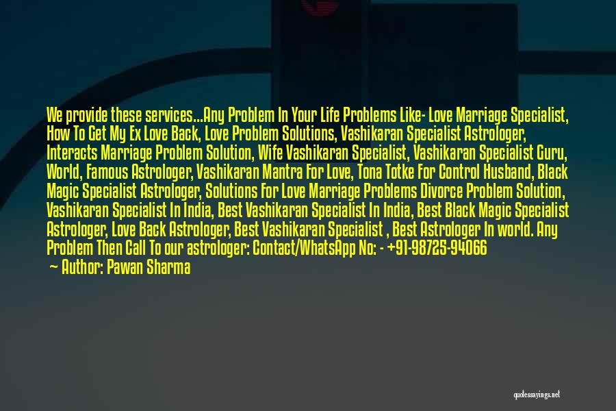 For Wife Love Quotes By Pawan Sharma