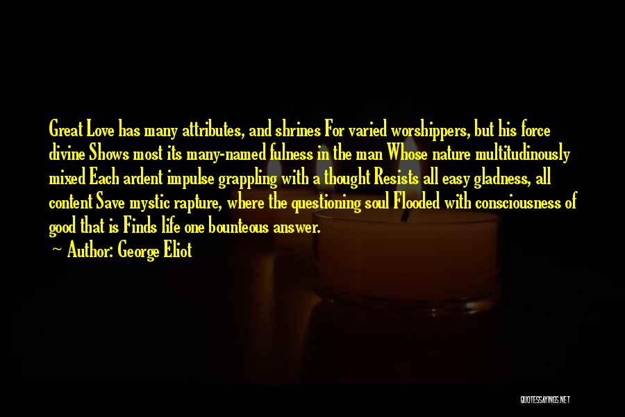 Force In Love Quotes By George Eliot