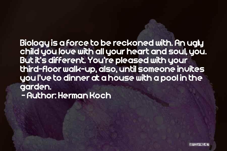 Force In Love Quotes By Herman Koch