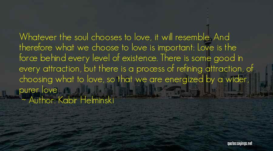 Force In Love Quotes By Kabir Helminski