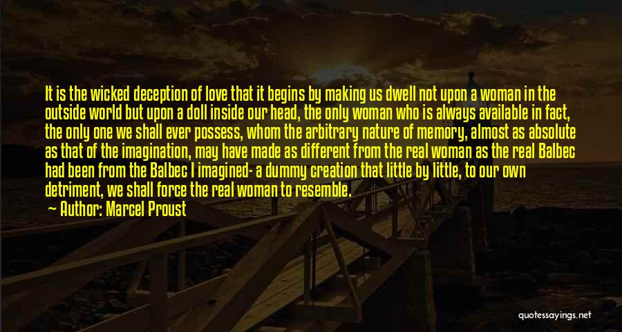 Force In Love Quotes By Marcel Proust