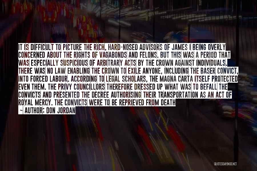 Forced Labour Quotes By Don Jordan