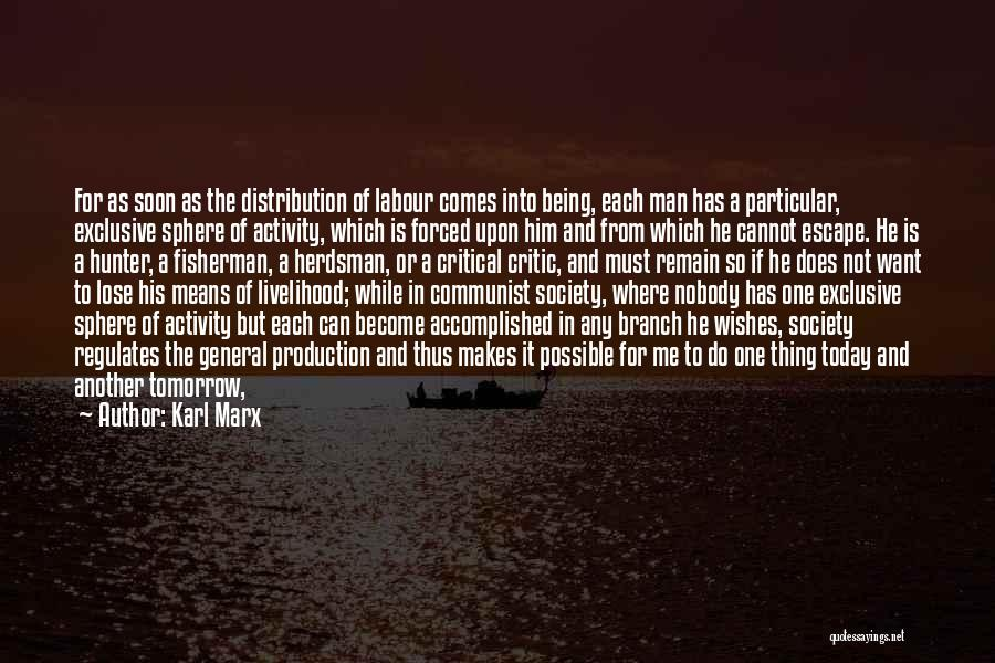 Forced Labour Quotes By Karl Marx