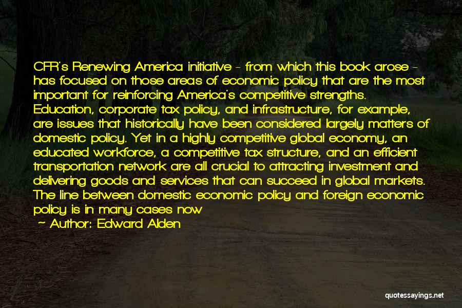 Foreign Investment Quotes By Edward Alden