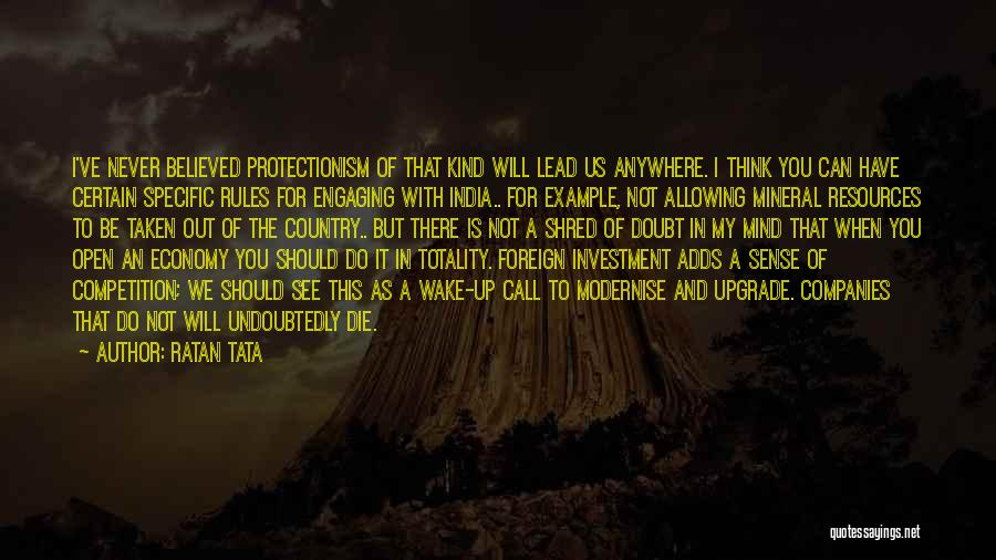 Foreign Investment Quotes By Ratan Tata