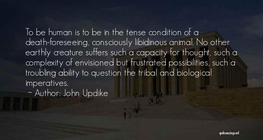 Foreseeing Quotes By John Updike