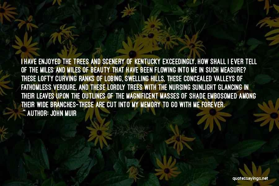 Forever In My Memory Quotes By John Muir