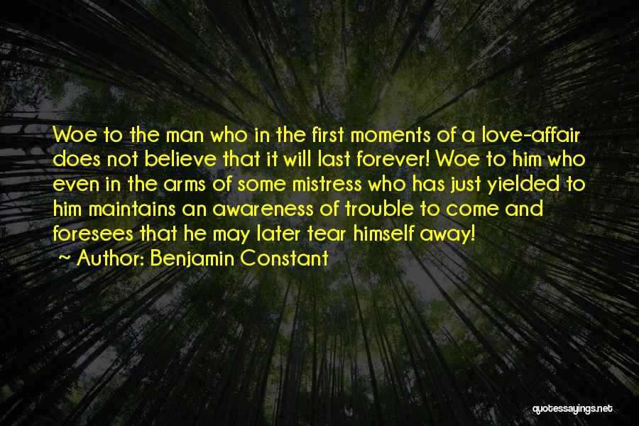Forever In Your Arms Quotes By Benjamin Constant