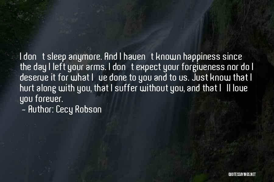 Forever In Your Arms Quotes By Cecy Robson