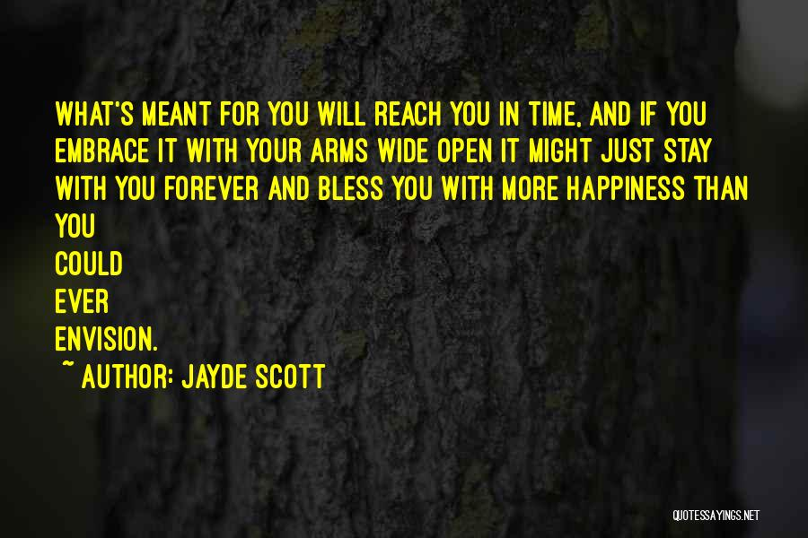 Forever In Your Arms Quotes By Jayde Scott