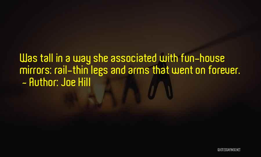 Forever In Your Arms Quotes By Joe Hill
