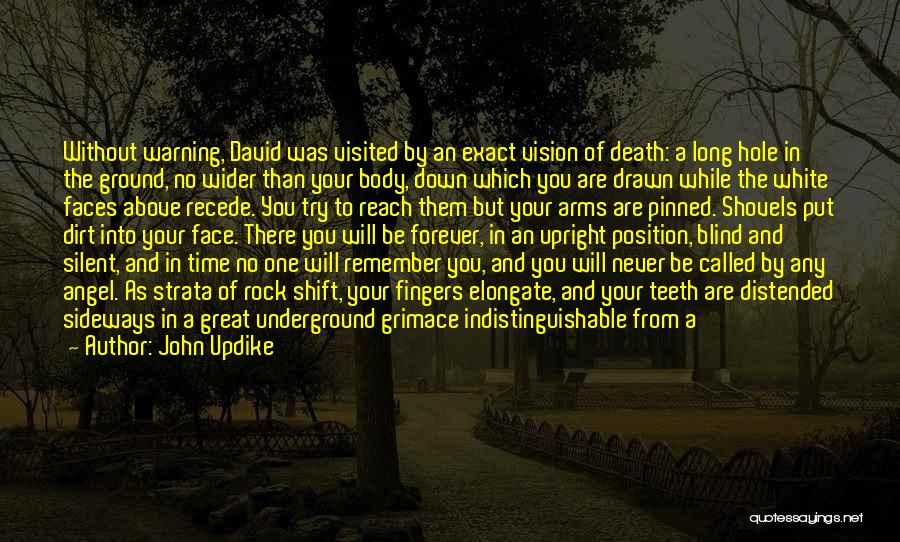 Forever In Your Arms Quotes By John Updike
