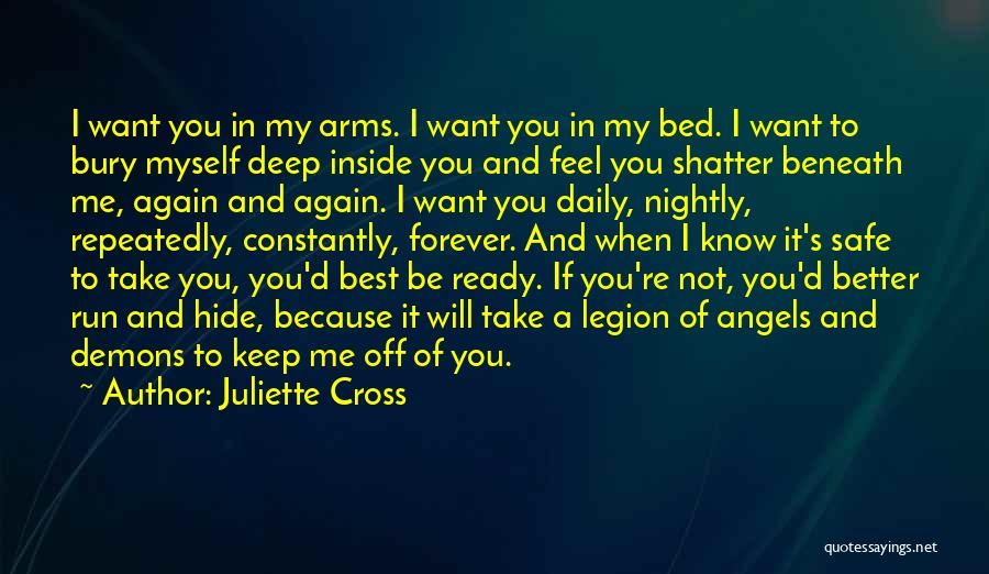 Forever In Your Arms Quotes By Juliette Cross