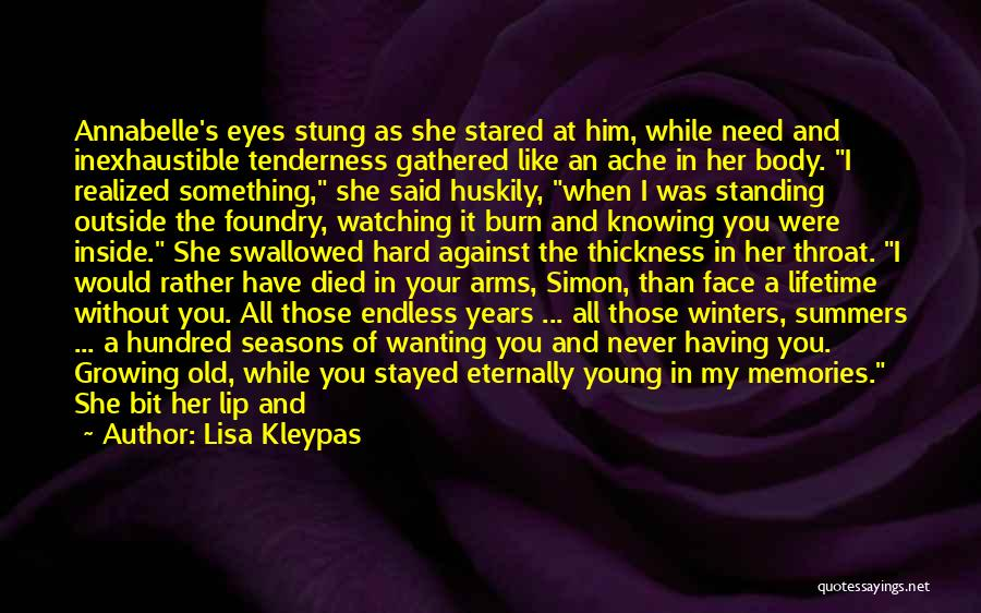 Forever In Your Arms Quotes By Lisa Kleypas