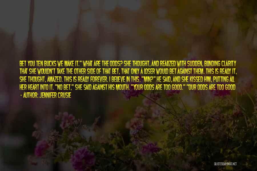 Forever In Your Heart Quotes By Jennifer Crusie