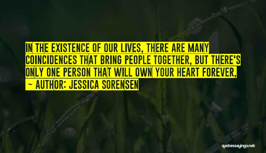 Forever In Your Heart Quotes By Jessica Sorensen