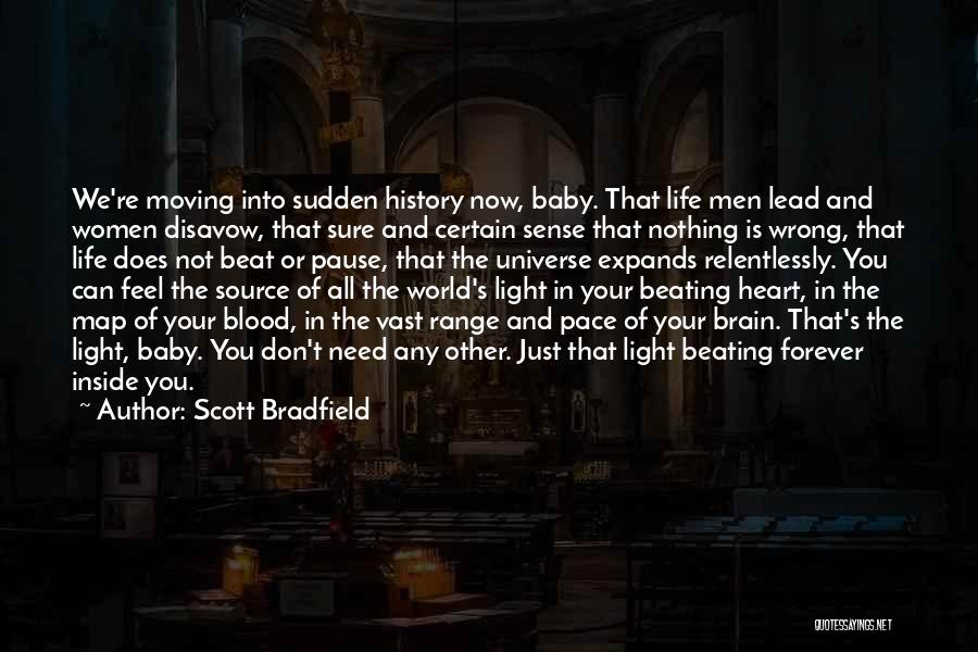 Forever In Your Heart Quotes By Scott Bradfield