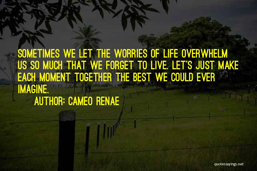 Forget All Your Worries Quotes By Cameo Renae