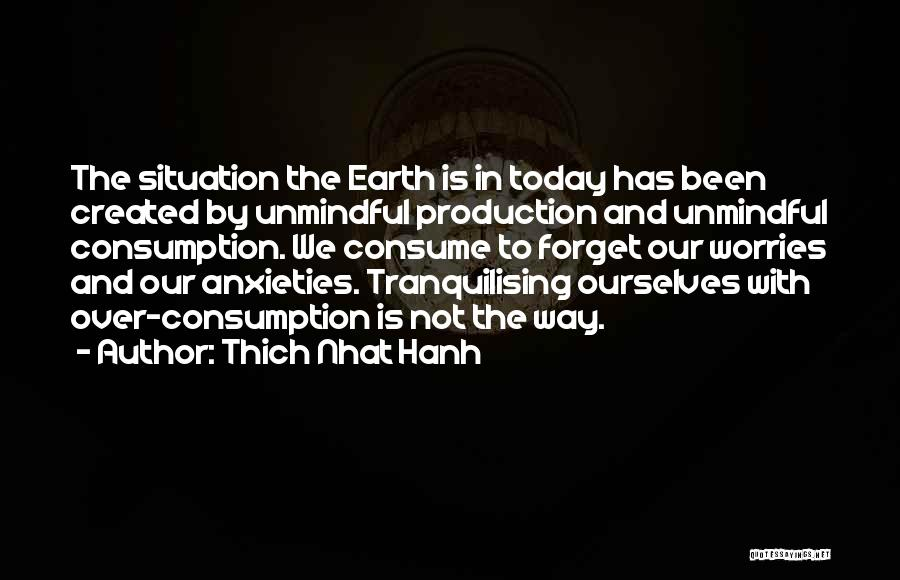 Forget All Your Worries Quotes By Thich Nhat Hanh