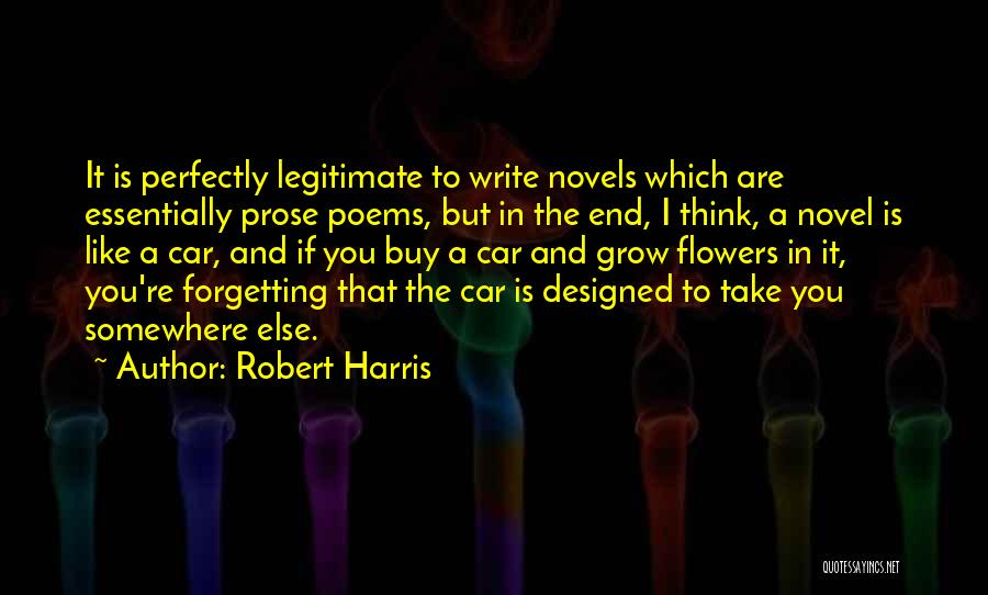 Forgetting Our Past Quotes By Robert Harris