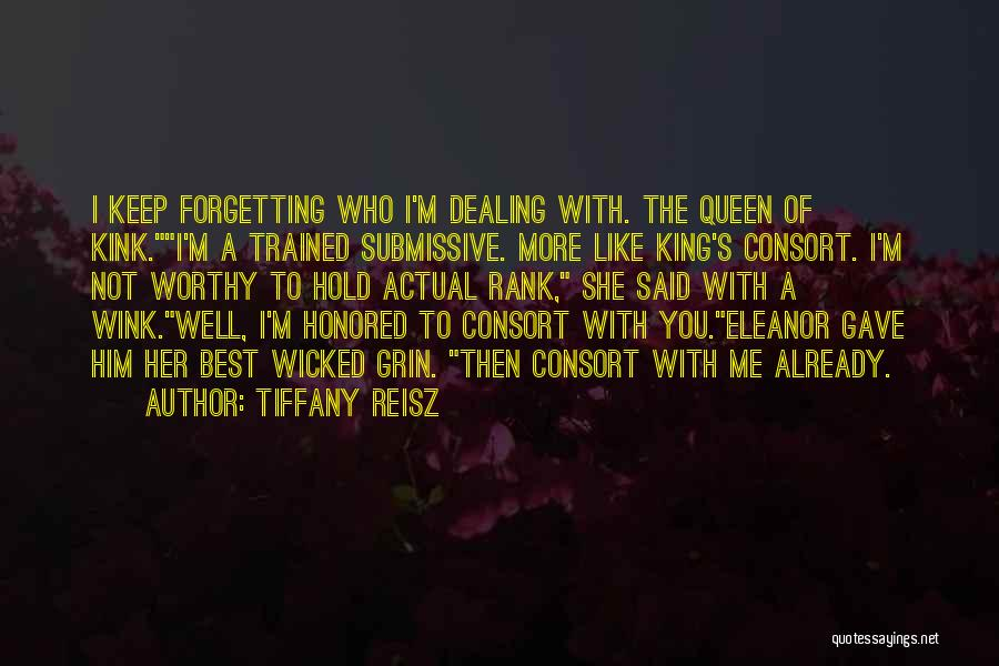 Forgetting Our Past Quotes By Tiffany Reisz